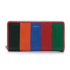 Balenciaga Bazar Continental Zip Around Wallet