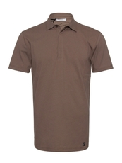 Versace Men's Polo Tee Light Brown