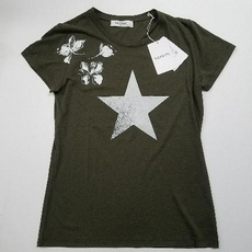 Valentino Star Flower Pattern T-Shirt Green