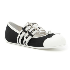 Miu Miu Women's Flats Black/White