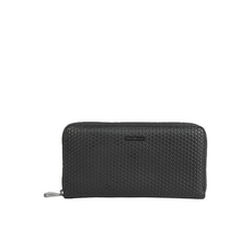Emporio Armani Zip Around Wallet Black