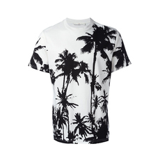Golden Goose Deluxe Brand Palm Print T-Shirt White