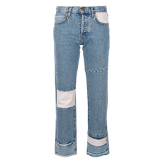 Current Elliott Diy Original Straight Jeans Blue