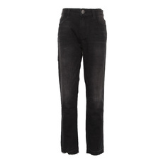 Current Elliott The Cropped Straight Jeans Dark Grey