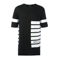 Helmut Lang Oversized Graphic Print T-Shirt Black