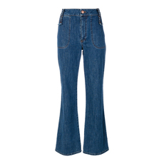 See By Chloe Retro Flare Jeans Washed Indigo
