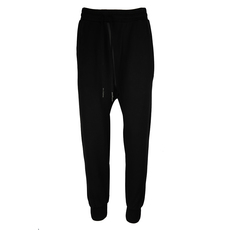 Boris Bidjan Saberi Stretch Cotton Blend Drawstring Sweatpants Black