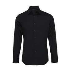 Prada Stretch Shirt Dark Blue