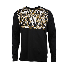 Roberto Cavalli Graphic Print T-Shirt Black