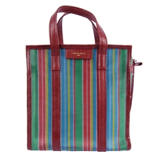 Balenciaga Bazar Shopper S Tote Bag Multicolor