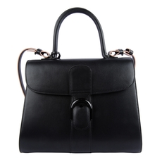 Delvaux Brillant Tote Bag Black