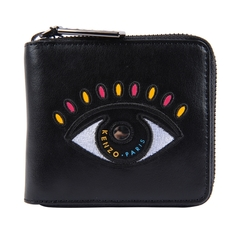 Kenzo Squared Eye Purse Black