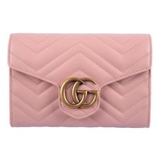 448023e5857 Gucci Gg Marmont Matelassé Mini Bag Pink