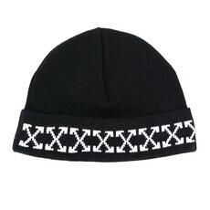Off White Arrow Beanie Black