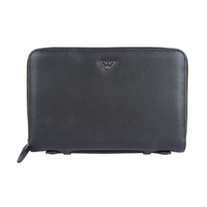 Emporio Armani Organizer Travel Wallet Black
