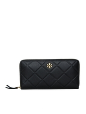 Tory Burch Georgia Zip Continental Wallet Black