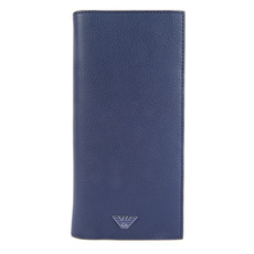 Emporio Armani Long Wallet Blue