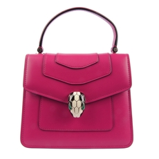 Bvlgari Serpenti Forever Flap Cover Bag In Jazzy Tourmaline