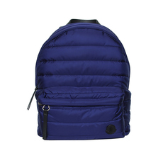 Moncler Fugi Quilted Backpack Blue