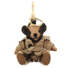 Burberry Thomas Bear Check Cashmere Charm With Coat