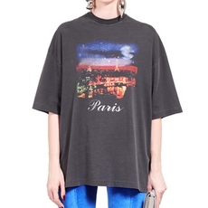Balenciaga Paris Short Sleeves Top