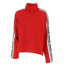 Msgm Long Sleeves Sweater Red