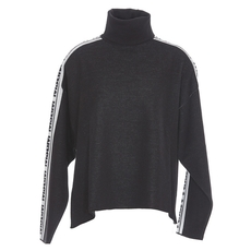 Msgm Long Sleeves Sweater Black