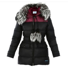Prada Fur Neck Down Jacket
