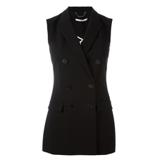 Givenchy Double Breasted Sleeveless Blazer