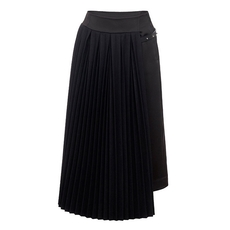 Loewe Pleated Panel Skirt Black