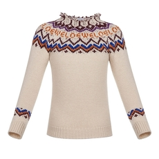 Loewe Jacquard Sweater White/Multicolor