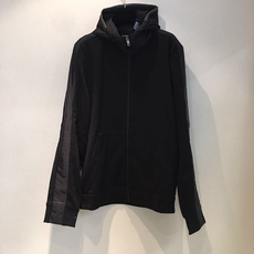 Prada Cotton Fleece Blouson Jacket Black