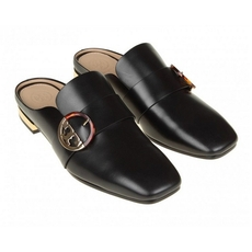 Tory Burch Sidney Backless Loafer Black