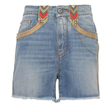 Ermanno Scervino Gole Wire Edging Shorts Blue