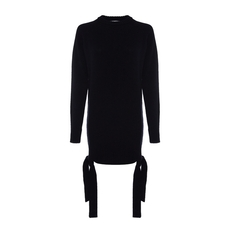 Msgm Wool And Cashmere Dress Black
