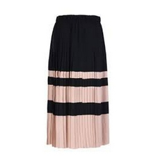 N°21 Pleated Midi Skirt