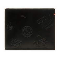 Bally Bevye Bi-Fold Wallet Black