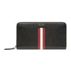 Bally Telen Long Wallet Black