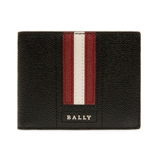 Bally Tevye Bovine Leather Wallet Black
