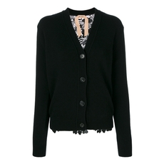 N°21 V-Neck Cardigan Black