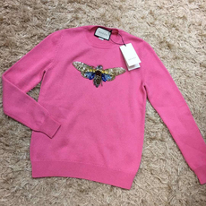 Gucci Embroidered Cashmere Knitted
