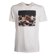 Dior Homme Dan Witz Print Embroidered T-Shirt