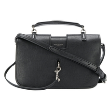 Saint Laurent Small Charlotte Messenger Bag Black