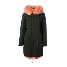 Mr & Mrs Italy Rabbit And Raccoon Fur Lined Parka