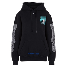 Off-White Peep Hoodie Sweatshirt Black