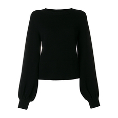 Chloe Bell Sleeved Sweater Black