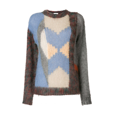 Chloe Loose Graphic Sweater Multicolor