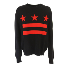Givenchy Stars And Stripes Sweater Black