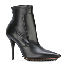 Givenchy Pointed Toe Ankle Boots Black