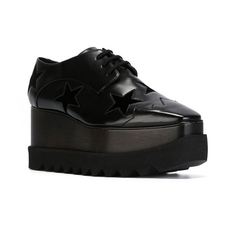 Stella Mccartney Star Elyse Platform Shoes Black